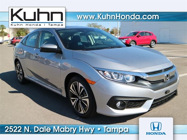 new 2017 honda civic ex t 4d sedan in tampa h70422 kuhn honda. Black Bedroom Furniture Sets. Home Design Ideas